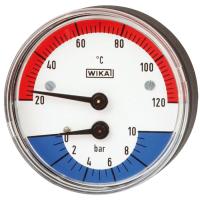 Модели 100.0x, 100.1x Термоманометр