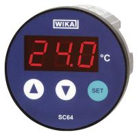 Модель SC64 Контроллер температуры с цифровым индикатором