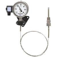 Модель TGT73 Манометрический термометр с электрическим выходным сигналом